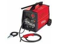 clark mig turbo welder gas or gas less