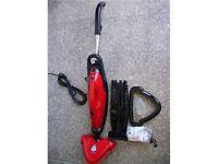 H20 MOP ULTRA 3-in-1 Steam Cleaner w/2 Microfiber Cloth Pads
