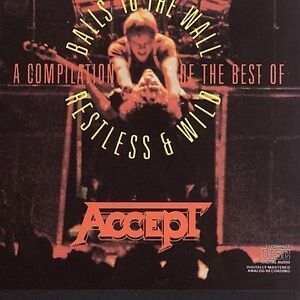 ACCEPT Balls To The Wall/Restless & Wild CD 1986 Portrait Records RK 40265 UDO