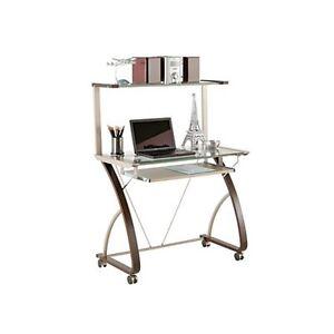 Sleek modern desk