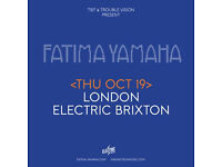 FATIMA YAMAHA - LIVE