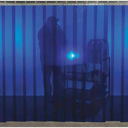 Steiner 83413B Welding Strip Curtain,6 X10 Ft.,Blue,Pvc