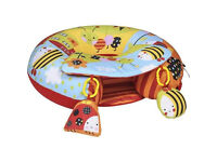 Red Kite Sit Me Up Inflatable Ring Baby Seat Cotton Tail and Friends_NEW