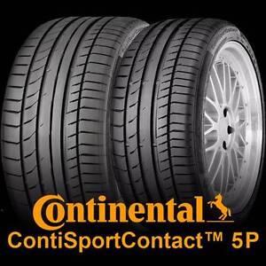 NEW BMW 3-Series GT 255/40 R19 + 225/45 R19 Continental SC5P Tyre Preston Darebin Area Preview