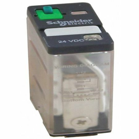 Schneider Electric 781Xaxrm4l-120A General Purpose Relay, 120V Ac Coil Volts,