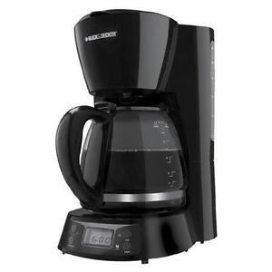 Cafetière numérique 12 tasses noire Black & Decker ( BCM1410BC )