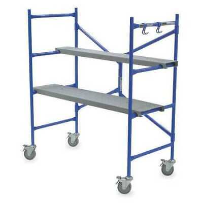 Werner Ps-48 Portable Scaffold Aluminum 500 Lb Load Capacity 3 Ft 8 In