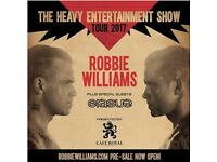 2 x Robbie Williams seated tickets. Coventry Ricoh arena 13/6/17