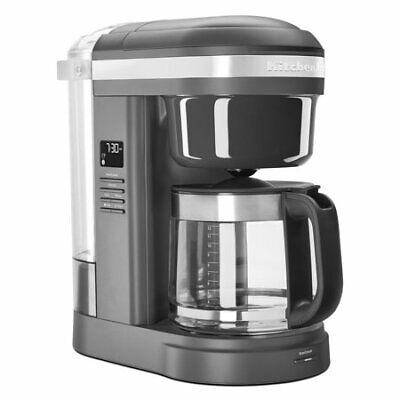 KitchenAid 12 Cup Drip Coffee Maker with Spiral Showerhead,