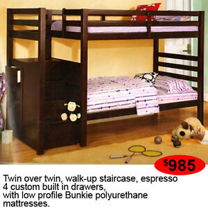 WALK-UP STAIRCASE BUNKBED