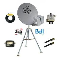 Dish 500 HD Camping Combo w/ 3' Tripod + Delivery