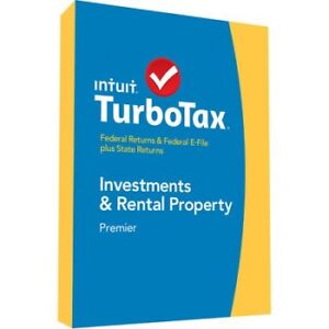 Intuit Turbo Tax Premier 2014 Investments & Rental Property