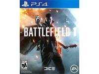 Battlefield one BF1 PS4 game PlayStation 4