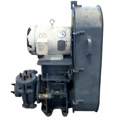 Used 7.5 Hp Warman Ah Centrifugal Slurry Pump - 1.51