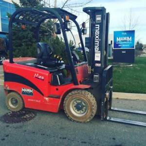 2015 Maximal Forklift and Many More