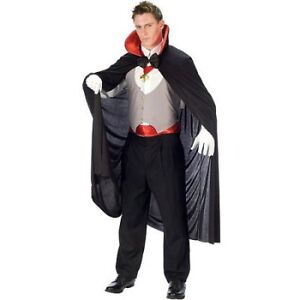 NEW: HALLOWEEN VAMPIRE COSTUME FOR ADULT - $35 SET