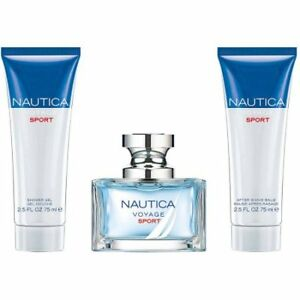 NEW: Nautica Voyage Sport Fragrance 3 pieces Gift Set