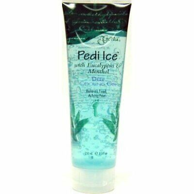 Gena Pedi Ice Deep Cooling Gel For ACHING FEET 8.5 oz *LOW FLAT RATE SHIPPING* Gena Pedi Ice
