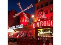 Moulin Rouge Tickets - valid until 29th March 2019