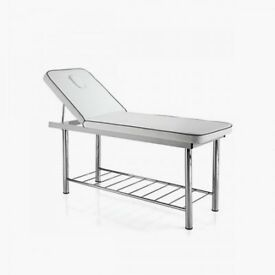 Beauty/ Massage Bed; metal framed