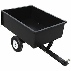 Backyard trailer/dump cart