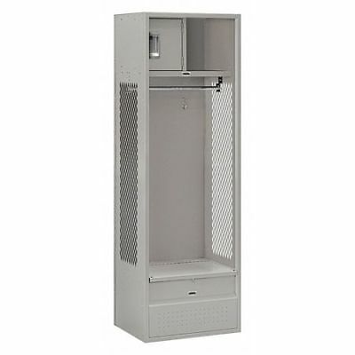 Salsbury Industries 70018gy-u Open Access Locker24wx72hx18dgray