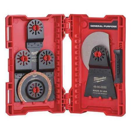 MILWAUKEE 48-90-1009 Oscillating Blade Kit,9 Pieces
