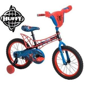 """NEW* HUFFY BOYS SPIDER-MAN BIKE 16"""" - 111273054 - BICYCLE OUTDOORS MARVEL SPIDERMAN"""
