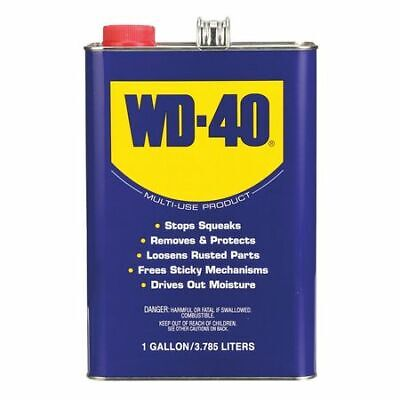 WD-40 490118 Lubricant, Can, 1 Gal., 25 VOC