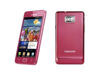 For sale pink samsung galaxy s2