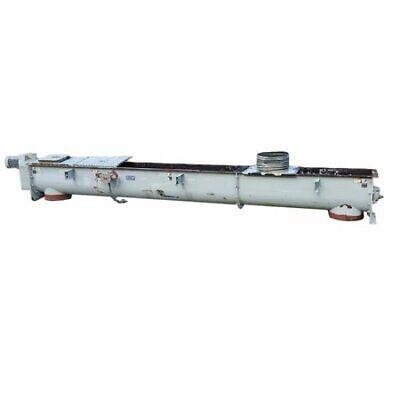 Used Industrial Screw Auger Conveyor 18 Dia. X 18 Long