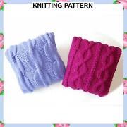 Chunky Knitting Cushion Pattern