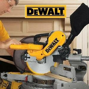 NEW DEWALT 10-INCH MITER-SAW DOUBLE-BEVEL COMPOUND MITER-SAW 104376766