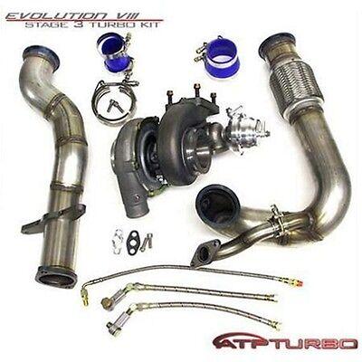 Atp Stealth Bolt On Gt3582r Turbo Kit For 03 07 Mitsubishi Evo Vii Viii Ix