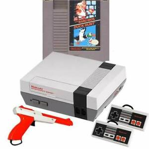 Original NES Console w/All Cables, 2 Guns & Mario Bros/Duck Hunt