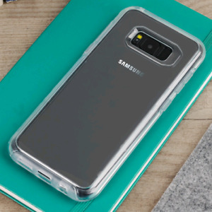Like new Otterbox tranparent symmetry case for S8+