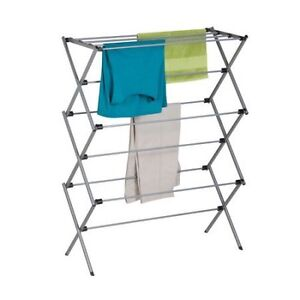 Fold up clothes drying rack
