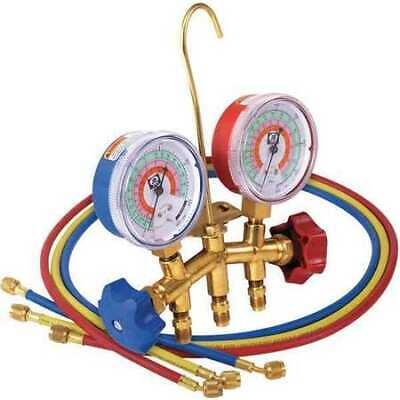 Jb Industries M2-5-410a-ss Manifold Gauge 2-valve