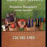 Saunders Lawncare services call us for free quotes!!