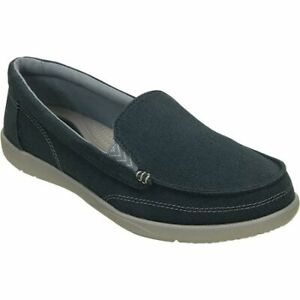 Women's Walu Canvas Loafer Size 10 - Navy