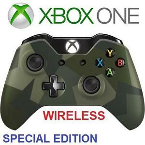 REFURB XBOX ONE WIRELESS CONTROLLER VIDEO GAMES - CAMO - SPECIAL EDITION ARMED FORCES 98922843