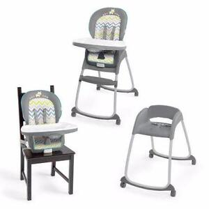 New, Ingenuity Trio 3 In 1 High Chair Ridgedale (Open Box) PU2