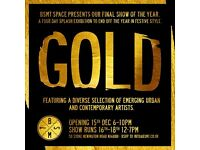 'Gold' at BSMT SPACE gallery in Dalston