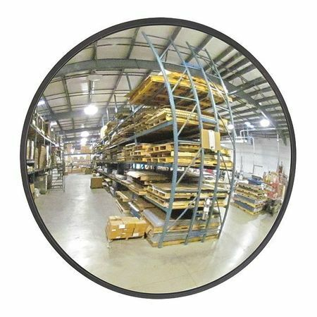 "Zoro Select Scvi-26Z-Vt Indoor Convex Mirror,Circular,26"" Dia."