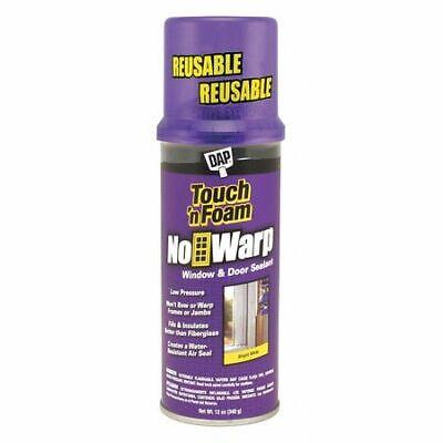 Touch N Seal 7565004000 Window Door Spray Foam Sealant 12 Oz Aerosol Can