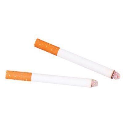 2 Fake Puff Cigarettes Magic Joke Trick Stage - Puff Cigarettes