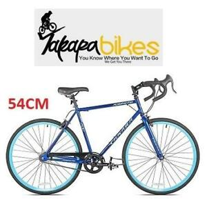 NEW TAKARA KABUTO SINGLE SPEED BIKE 52724 182412323 BICYCLE 700C BLUE MEDIUM 54CM FRAME