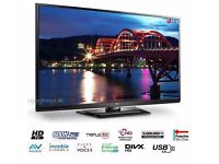 "*Perfect Condition* LG 50PA4500 SUPER SLIM 50"" HD Ready TV with 2x HDMI, USB & Freeview + REMOTE"