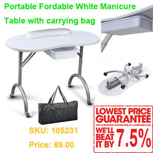 Portable &amp station Manicure Table for Nail Salon/Spa, From$89