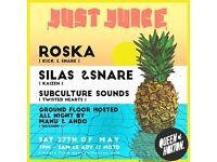Just Juice w/ Roska + More